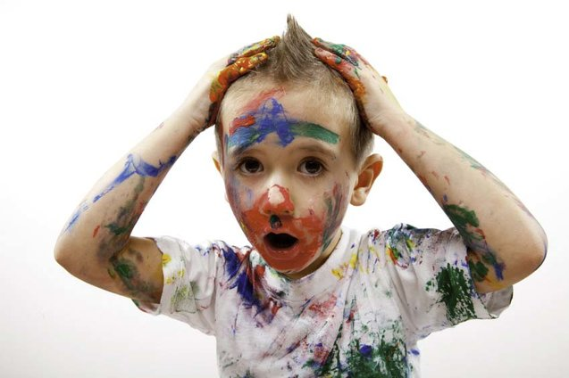 Paint Mess